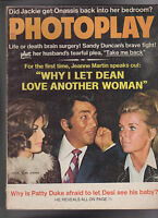 Photoplay Magazine Dean Martin Jackie Onassis Patty Duke February 1972