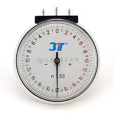 Lens Clock - Premium Radius Gauge for measuring lens curvature