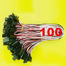 100 x 30cm Servo Extension Lead 26awg Wire Connector Cable For Futaba