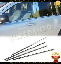 For 2007-2017 JEEP Compass LIMITED SUV Steel Polished Window Sills Moldings