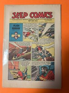 Jeep Comics En Anglais 1945 Numero 11 Flash Gordon