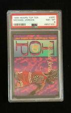 1995 Hoops Basketball Michael Jordan Top Ten #AR7 Insert PSA 8 NM-MT FREE SHIP