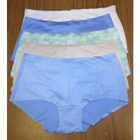BNWT ex M&S NO VPL microfibre low rise shorts knickers sizes 8-18 colour options