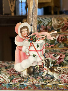 Vintage Miniature Dollhouse 1:12 Victorian Christmas Gifts Girl Dummy Board