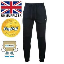 Lee Cooper Men Joggers £35 Trousers Gym Sports Activewear Casual Size M Navy