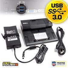 E4200 E4300 E5400 E5500 E6400 E6500 DELL E-Port Docking Station USB 3.0 + PA-4E