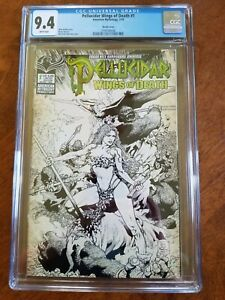 PELLUCIDAR WINGS OF DEATH SKETCH COVER LIMITED TO 350 COPIES CGC 9.4