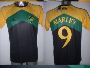 Jamaica Small & Large Bob Marley Reggae Boyz Shirt Jersey Football Soccer BNWT