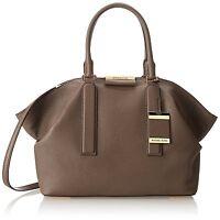 Michael Kors Brown Leather Elephant Lexi Large Satchel Shoulder Bag New ONLY 1