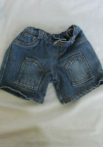 Used Build-a-Bear Accessories Clothes Doll Bear Denim  Jeans 16 in