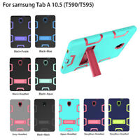 For Samsung Galaxy Tab A 10.5 SMT590/T595 Heavy Duty Shockproof Stand Case Cover