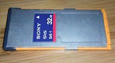 SONY SXS-1 32GB Express Memory Card SBS-32G1A for PMW-EX1 F3 EX3 PMW100 200 EX1R