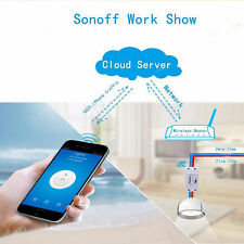 WiFi Wireless Smart Switch Module Remote Control ABS Shell Socket for DIY Home