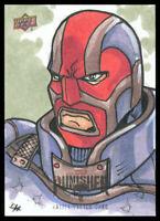 2020 Upper Deck Marvel The Punisher Season 1 David Hindelang Artist Sketch Card