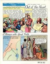 Bible Stories in Pictures #7 Part 1    March 30 1952     Out of the Heart