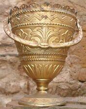 -Religieux Antique Seau à Eau bénite Néoclassique Bronze Holy Water Pot