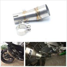 Motorcycle Exhaust Mid Pipe Muffler Link Pipe For Kawasaki Ninja 250R Z250 Z300
