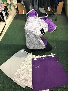 WOMENS BEAUTIFUL GOLF SKORTS £24.99 & SHIRTS NOW £19.99 + FREE P&P-GREAT PRICES