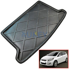 Cargo Mat Rear Trunk Boot Liner Floor Tray For Hyundai Accent Hatch RB 2012-2017