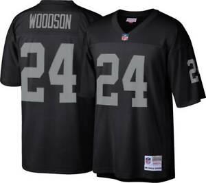Oakland Raiders Charles Woodson #24 Mitchell & Ness 1998 NFL Legacy Jersey
