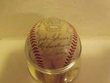 1950 MLB All Star Game NL auto. baseball (Snider, Robinson, Musial, Spahn, more)