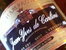 1 MAGNUM DA 1,5 Champagne Jean-Yves de Carlini Blanc de Noirs VERZENAY GRAND CRU