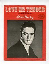 ELVIS PRESLEY Sheet Music 1956 Love Me Tender BRITISH