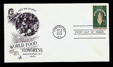 FIRST DAY COVER #1231Food For Peace 5c Freedom From Hunger ARTCRAFT U/A FDC 1963