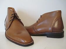 Giorgio Brutini Mens 24927 Thornton Leather Ankle Dress Boot Brown/Tan Sz 7.5M