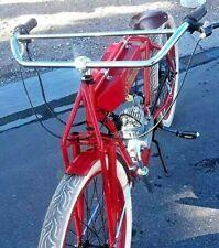 Steel Cross Handlebar antique Bicycle board track racer Schwinn indian  cruiser