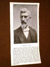 Raro ritratto Luigi Nono Fusina, 8 dicembre 1850 – Venezia, 17 ottobre 1918