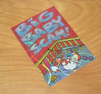 Vintage REN & STIMPY Prismatic Trading Card 1993 Topps Big Baby Scam Chase
