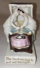 Victorian Porcelain Fairing - Conta Boehme - The Last in Bed to Put Out The Ligh