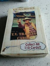 Gunsmoke Collector card Box