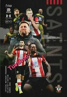 Southampton v Sheffield United LIMITED Bumper Programme 26/7/2020! PRE-ORDER!!!!