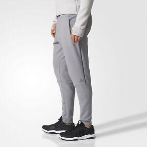 Men's Adidas ZNE Athletic Pants 2 Grey Large BP9337 Tapered Joggers Slim