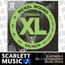 D'addario EXL165TP 45 - 105 Twin-Pack Bass Guitar Strings 2 sets EXL165 EXL-165