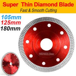 Porcelain Tile Diamond Cutting Blade Disc Saw Grinder Turbo Thin 105/125/180mm