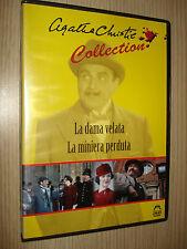 DVD LA DAMA VELATA LA MINIERA PERDUTA  AGATHA CHRISTIE COLLECTION