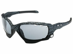 Oakley Jawbone Sunglasses 42-301 True Carbon Fiber/Grey Vented