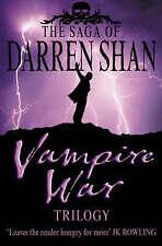 "The Saga of Darren Shan - Vampire War Trilogy: ""Hunters of the Dusk"", ""Allies of"