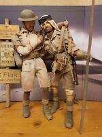 Custom 1/6 scale Dragon/DiD Weathered Military Figures British WW2 SAS