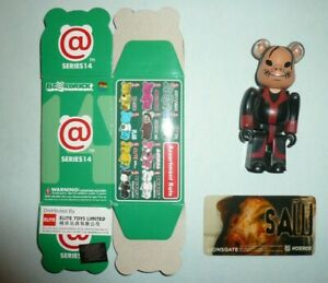SAW Film Horror 100% Bearbrick Series 14 Medicom S14 Figure Rare Limited Pighead