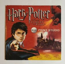 Harry Potter and the Goblet of Fire Dell Print Studio PC 2005 98 2000 XP Cd Rom