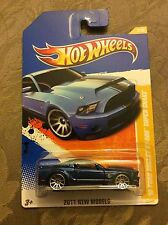 Hot Wheels '10 Ford Shelby GT-500 Super Snake 2011 New Models #T9673 Blue black