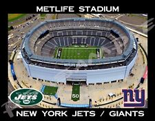 New York - METLIFE MET LIFE STADIUM - Jets / Giants - Flexible Fridge Magnet