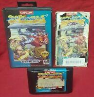 Street Fighter II Special Champion Edition - Sega Genesis Rare Game Authentic !