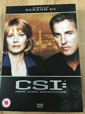 CSI Las Vegas - Complete Season 1 DVD Region 2 UK Series One First 6 Disc Set