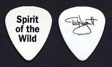 Ted Nugent Signature White Guitar Pick #2 - 1995 Spirit Of The Wild Tour