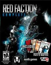 Red Faction: Complete - 1 / 2 / Guerrilla / Armageddon + Path To War - New